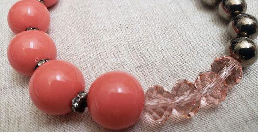 Bijoux: Tipos de pedras - Pedra Acrilica